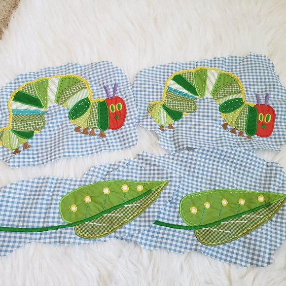 Pottery Barn the Very Hungry Caterpillar Patches